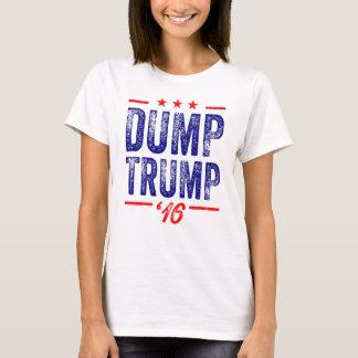 Camiseta Trunfo da descarga 't-shirt de 16 senhoras