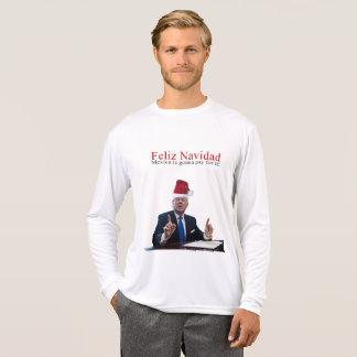 Camiseta Trunfo. Feliz Navidad, México está indo pagar por