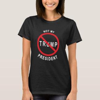 Camiseta Trunfo - não meu presidente Escuro T-shirt