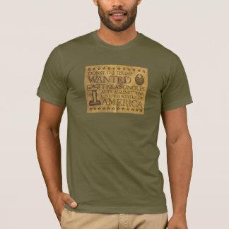 Camiseta Trunfo no t-shirt Treasonous dos atos dos estoques