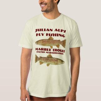 Camiseta Truta de mármore