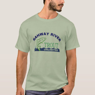 Camiseta Truta do rio de Rahway ilimitada