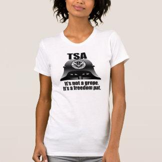 Camiseta TSA: Não é um grope. É uma liberdade Pat.