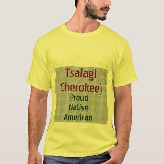 Camiseta Tsalagi (Cherokee): Americanos nativos orgulhosos