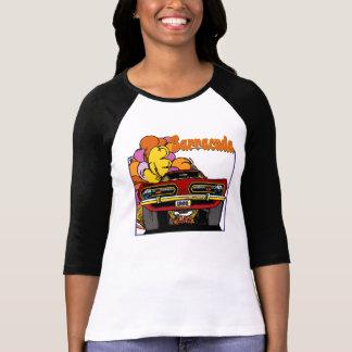 Camiseta Tshirt 1968 do carro do Barracuda de Plymouth