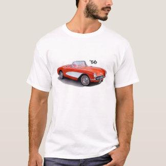 Camiseta Tshirt 56 de Chevrolet Corvette Vette 1956 '