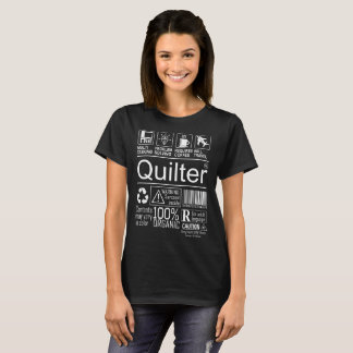 Camiseta Tshirt a multitarefas do estilo de vida de Quilter