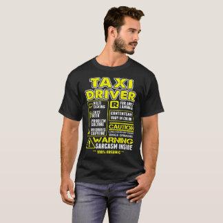 Camiseta Tshirt a multitarefas do taxista