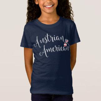 Camiseta Tshirt austríaco dos corações de Entwinted do