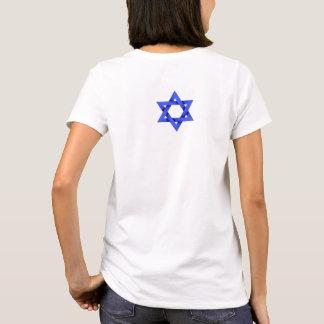 Camiseta Tshirt azul das mulheres de Megan David