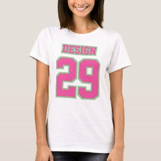 Camiseta TShirt básico do algodão das mulheres VERDES