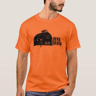 Camiseta Tshirt bêbedo das máquinas desbastadoras da sucata