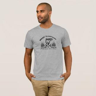 Camiseta Tshirt biodegradável das artes de pesca do