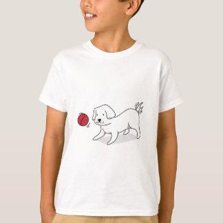 Camiseta Tshirt bonito do cão