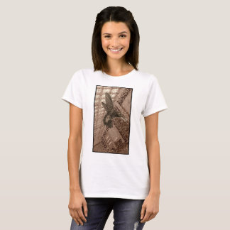 Camiseta Tshirt bonito do pássaro do colibri