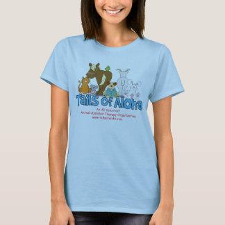 Camiseta Tshirt cabido boneca das senhoras