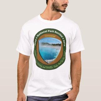Camiseta TShirt centenário Yellowstone do parque nacional
