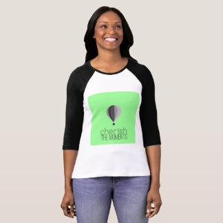 Camiseta Tshirt com logotipo do balão de ar quente