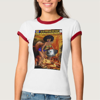 Camiseta Tshirt cómico expresso da baía do leste
