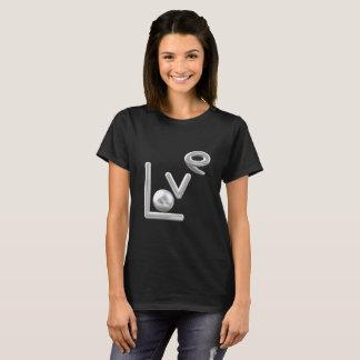 Camiseta Tshirt cromático do metal do amor