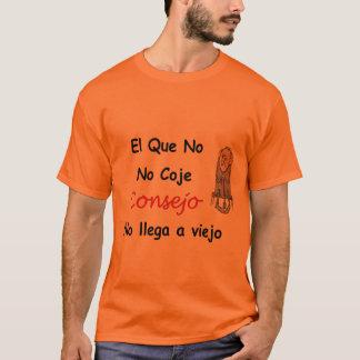 Camiseta Tshirt cubano dos provérbios