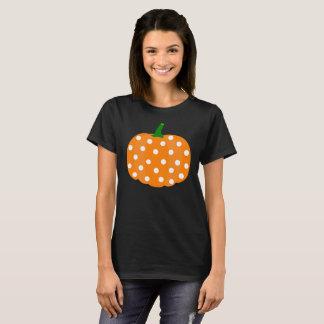 Camiseta Tshirt da abóbora para o Dia das Bruxas e a acção