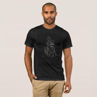 Camiseta tshirt da arte do pensador do rodin