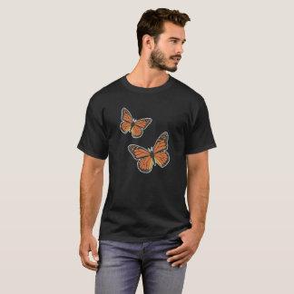 Camiseta Tshirt da borboleta de monarca