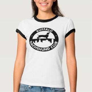 Camiseta Tshirt da campainha das mulheres do clube do