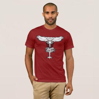 Camiseta Tshirt da cesta do ninho da coruja do golfe do