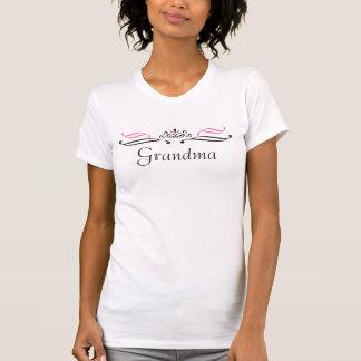 Camiseta TShirt da coroa da rainha da avó