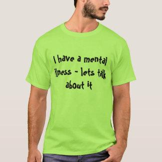Camiseta TShirt da doença mental