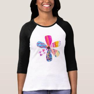 Camiseta Tshirt da flor