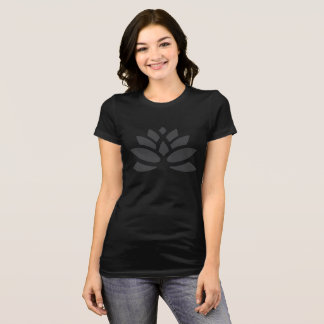 Camiseta Tshirt da flor de Lotus