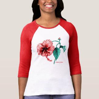 Camiseta TShirt da flor do hibiscus