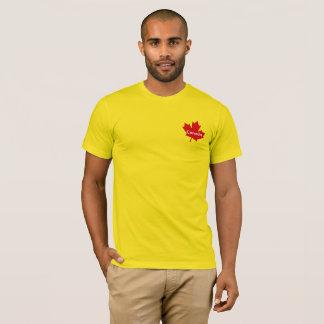 Camiseta TShirt da folha de bordo de Canadá