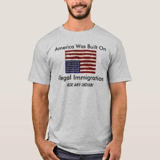 Camiseta Tshirt da imigração ilegal