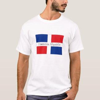 Camiseta Tshirt da lembrança da bandeira da República
