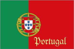bb8eae33b8 Camiseta Tshirt da lembrança da bandeira de Portugal