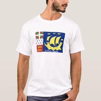 Camiseta Tshirt da lembrança da bandeira de St