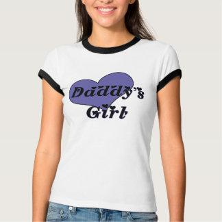 Camiseta TShirt da menina do pai