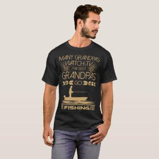 Camiseta Tshirt da pesca da tevê do relógio de muitos vovôs