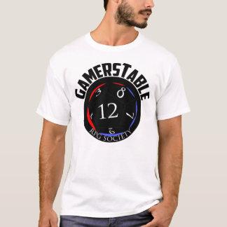 Camiseta TShirt da sociedade do RPG de Gamerstable