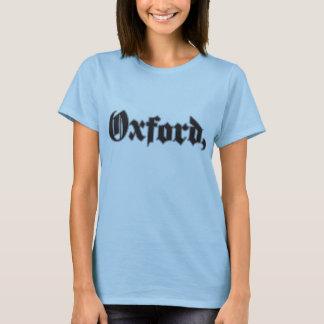 Camiseta TShirt da vírgula de Oxford