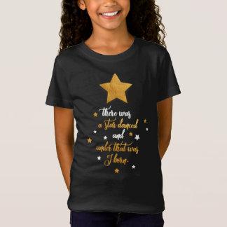 Camiseta Tshirt das meninas do aniversário. Citações