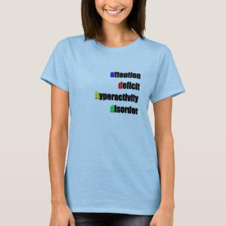Camiseta Tshirt de ADHD
