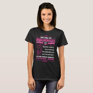 Camiseta Tshirt de exigência emocional do zodíaco do