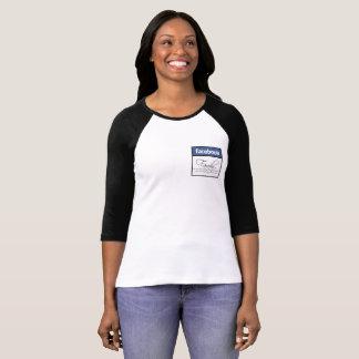 Camiseta Tshirt de Facebook