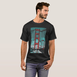 Camiseta TShirt de golden gate bridge