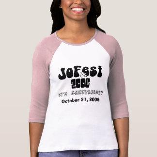 Camiseta TShirt de JoFest, o 21 de outubro de 2006